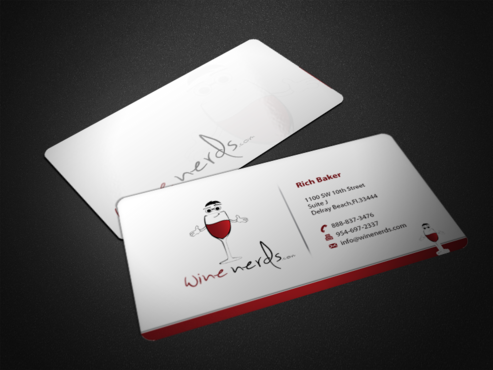 Rich Baker Business Cards and Stationery  Draft # 38 by einsanimation