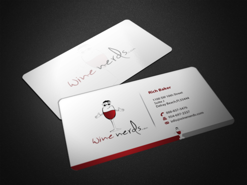 Rich Baker Business Cards and Stationery  Draft # 39 by einsanimation