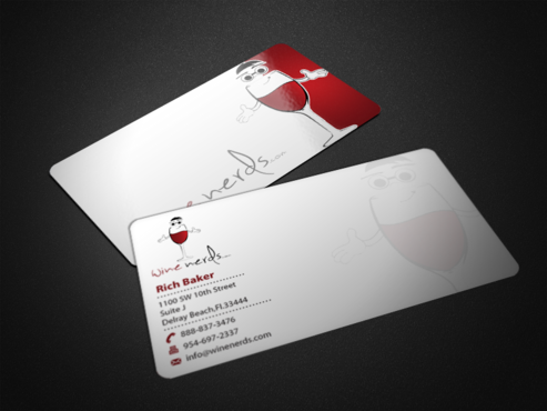 Rich Baker Business Cards and Stationery  Draft # 42 by einsanimation