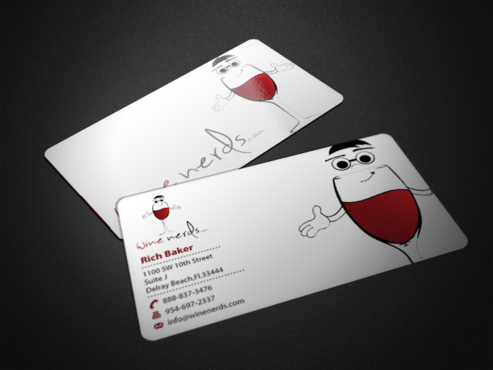 Rich Baker Business Cards and Stationery  Draft # 44 by einsanimation