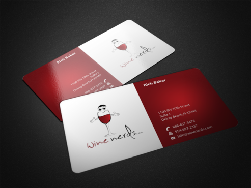 Rich Baker Business Cards and Stationery  Draft # 46 by einsanimation