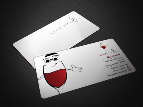 Rich Baker Business Cards and Stationery  Draft # 45 by einsanimation