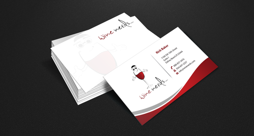 Rich Baker Business Cards and Stationery  Draft # 49 by einsanimation