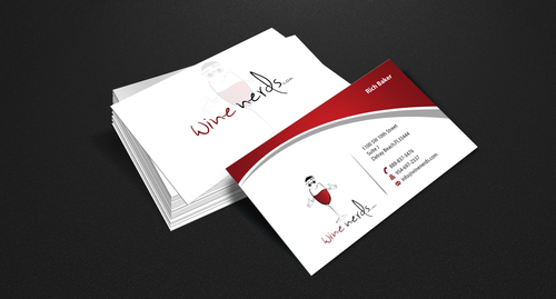 Rich Baker Business Cards and Stationery  Draft # 51 by einsanimation