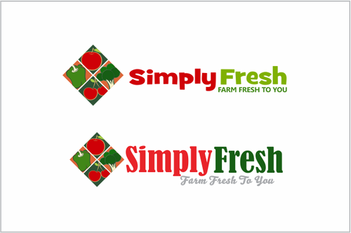 Simply Fresh A Logo, Monogram, or Icon  Draft # 55 by odc69