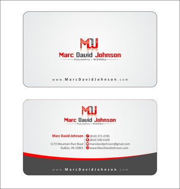 Programmer Business Cards and Stationery  Draft # 114 by Deck86