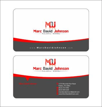 Programmer Business Cards and Stationery  Draft # 115 by Deck86