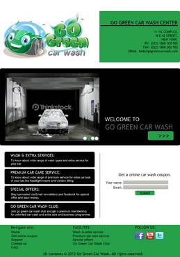 GoGreen Complete Web Design Solution  Draft # 9 by megamind