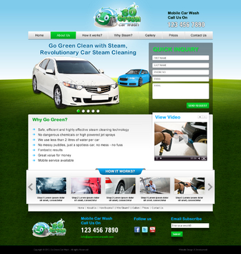 GoGreen Complete Web Design Solution  Draft # 10 by jogdesigner