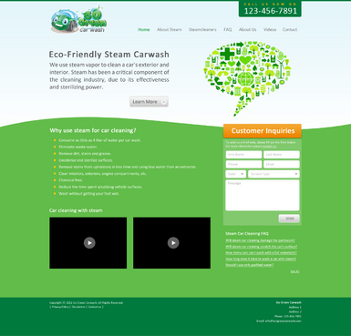 GoGreen Complete Web Design Solution  Draft # 15 by mincedfruits