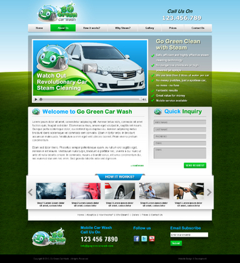 GoGreen Complete Web Design Solution  Draft # 20 by jogdesigner