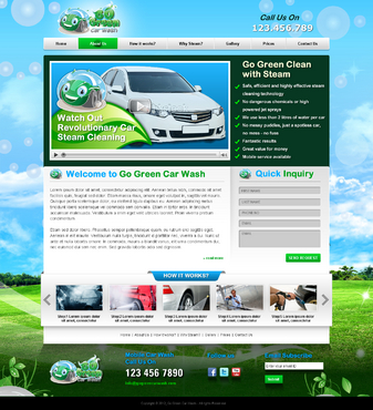 GoGreen Complete Web Design Solution  Draft # 27 by jogdesigner