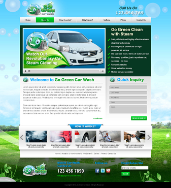 GoGreen Complete Web Design Solution  Draft # 28 by jogdesigner