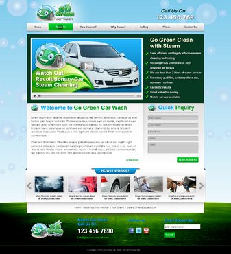 GoGreen Complete Web Design Solution  Draft # 32 by jogdesigner