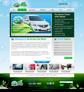 GoGreen Complete Web Design Solution  Draft # 33 by jogdesigner