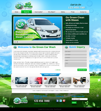 GoGreen Complete Web Design Solution  Draft # 39 by jogdesigner