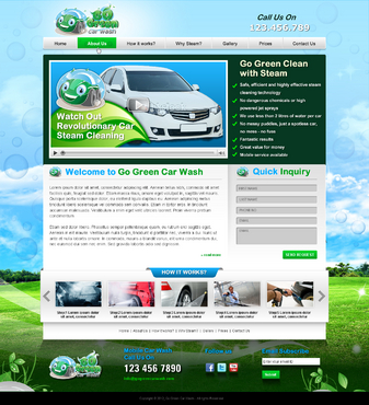GoGreen Complete Web Design Solution  Draft # 40 by jogdesigner