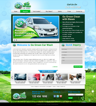 GoGreen Complete Web Design Solution  Draft # 41 by jogdesigner
