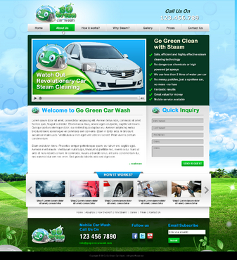 GoGreen Complete Web Design Solution  Draft # 42 by jogdesigner