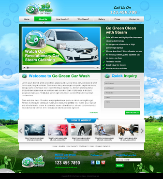 GoGreen Complete Web Design Solution  Draft # 43 by jogdesigner