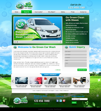 GoGreen Complete Web Design Solution  Draft # 44 by jogdesigner