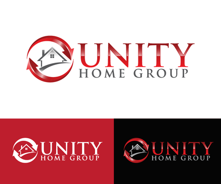 Unity Home Group A Logo, Monogram, or Icon  Draft # 456 by nesgraphix
