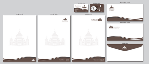 Fr. Michael Loza Business Cards and Stationery  Draft # 142 by ArtworksKingdom