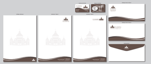 Fr. Michael Loza Business Cards and Stationery  Draft # 146 by ArtworksKingdom