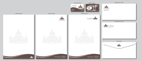 Fr. Michael Loza Business Cards and Stationery  Draft # 151 by ArtworksKingdom