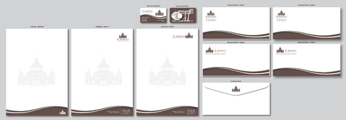 Fr. Michael Loza Business Cards and Stationery  Draft # 154 by ArtworksKingdom