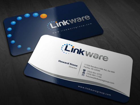 Linkware, LLC Business Cards and Stationery  Draft # 8 by Xpert