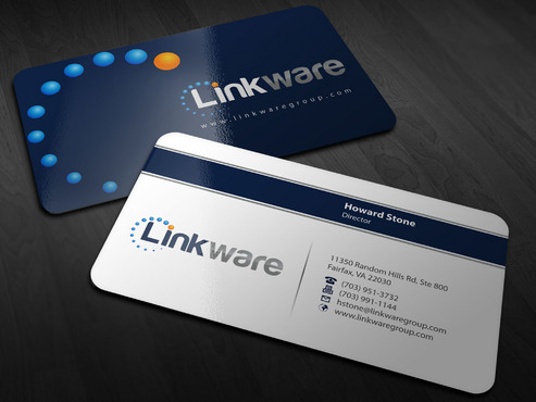 Linkware, LLC Business Cards and Stationery  Draft # 10 by Xpert