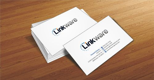 Linkware, LLC Business Cards and Stationery  Draft # 86 by Deck86