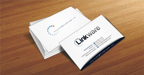 Linkware, LLC Business Cards and Stationery  Draft # 87 by Deck86