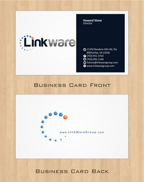 Linkware, LLC Business Cards and Stationery  Draft # 111 by Deck86