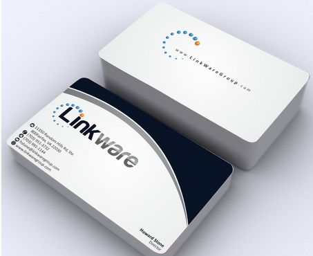 Linkware, LLC Business Cards and Stationery  Draft # 130 by Deck86