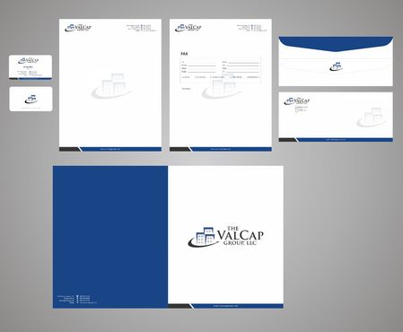 business card, letterhead, and envelopes