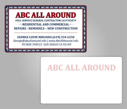 ABC ALL AROUND - GENERAL CONTRACTOR