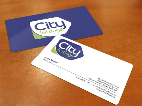 City Lettings  Business Cards and Stationery  Draft # 5 by i3designer