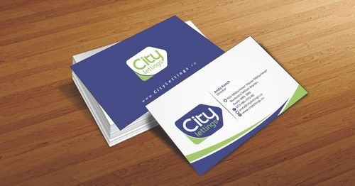 City Lettings  Business Cards and Stationery  Draft # 20 by Deck86