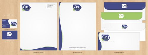 City Lettings  Business Cards and Stationery  Draft # 76 by Deck86