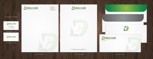 Dokoozian Construction, LLC. Business Cards and Stationery  Draft # 137 by Deck86
