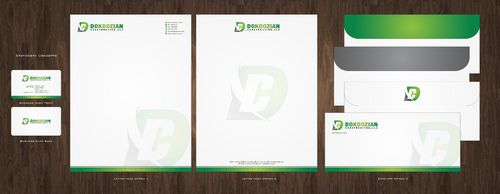 Dokoozian Construction, LLC. Business Cards and Stationery  Draft # 139 by Deck86