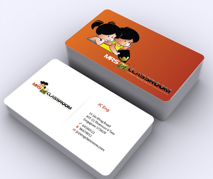 Mrs Eng's Classroom Business Cards and Stationery  Draft # 1 by ArtworksKingdom