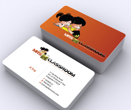 Mrs Eng's Classroom Business Cards and Stationery  Draft # 2 by ArtworksKingdom