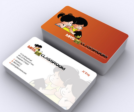 Mrs Eng's Classroom Business Cards and Stationery  Draft # 3 by ArtworksKingdom