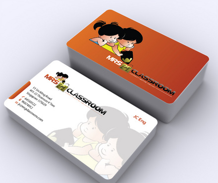 Mrs Eng's Classroom Business Cards and Stationery  Draft # 4 by ArtworksKingdom