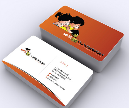 Mrs Eng's Classroom Business Cards and Stationery  Draft # 8 by ArtworksKingdom