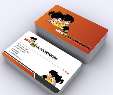Mrs Eng's Classroom Business Cards and Stationery  Draft # 11 by ArtworksKingdom