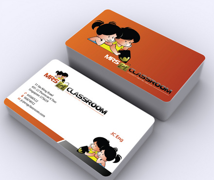 Mrs Eng's Classroom Business Cards and Stationery  Draft # 12 by ArtworksKingdom